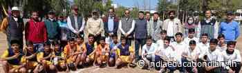 2-Day Kho-Kho tournament commences at GDC Udhampur; Principal GDC declares open tournament - India Education Diary
