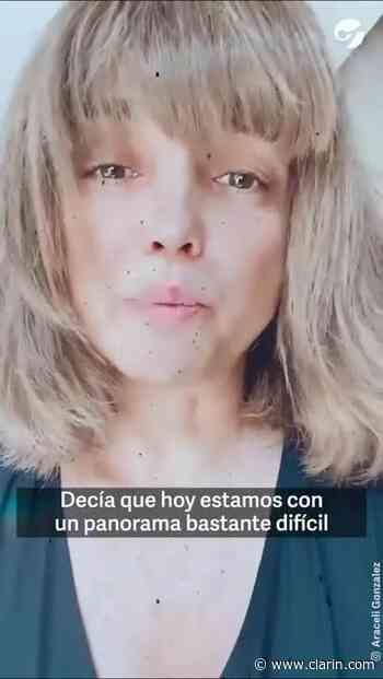Video: Araceli González apareció tras recuperarse del coronavirus y compartió su drama familiar - Clarín.com