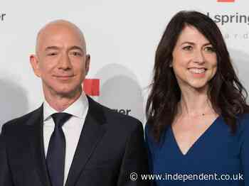 Jeff Bezos' ex-wife marries Seattle science teacher as Amazon boss says: 'He is a great guy'