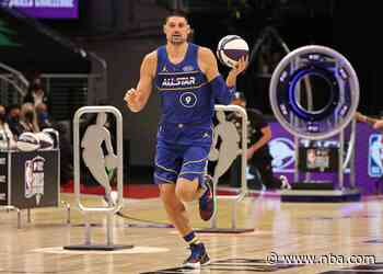 Nikola Vucevic Finishes Runner-Up in Taco Bell Skills Challenge