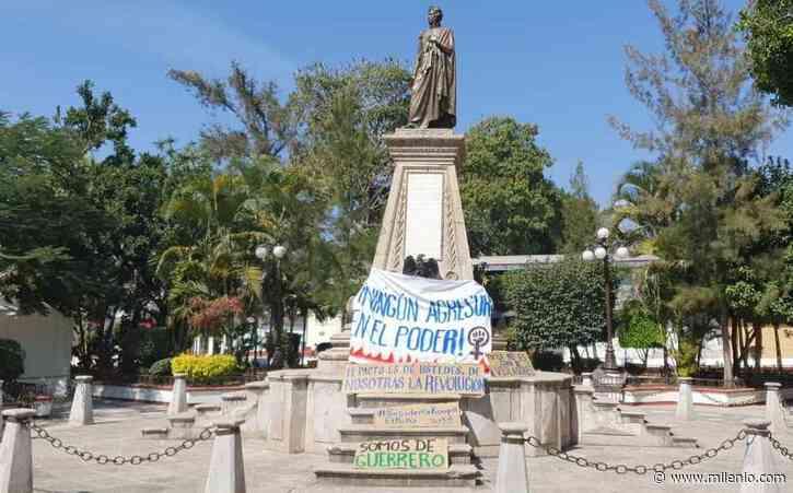 Colocan pancartas contra Félix Salgado en Tixtla, tras validación de registro - Milenio