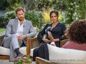Meghan and Harry interview - live: Prince says William and Charles are 'trapped' as Markle reveals baby's sex