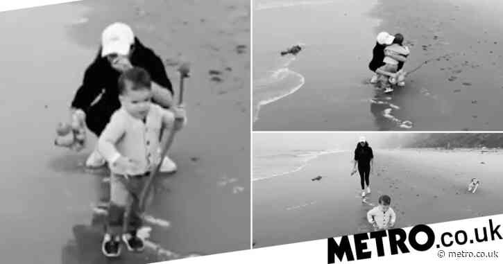 Meghan and Harry share adorable new video of son Archie at the beach