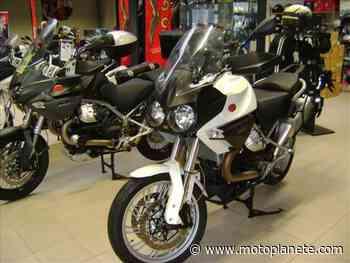 Moto-Guzzi STELVIO 1200 8V ABS 2011 à 8000€ sur REZE - Occasion - Motoplanete