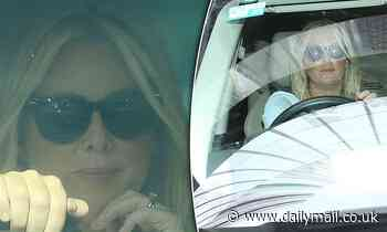 SamArmytage looks serious departing Seven's Sydney studios after on-air Sunrise resignation