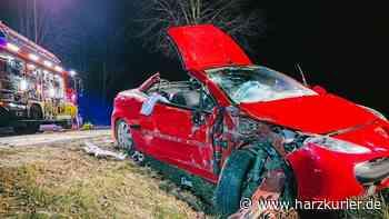 Tödlicher Unfall auf B 445 bei Bad Gandersheim - HarzKurier
