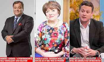 Royal experts blast 'self-indulgent and selfish' Harry and Meghan