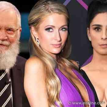 Paris Hilton Calls Out David Letterman & Sarah Silverman - E! Online