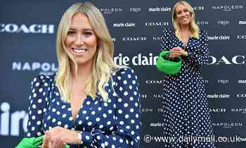 Phoebe Burgess makes her first public appearance since her ex-husband Sam Burgess' dramatic arrest