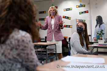 Jill Biden sees teachable moment in the depths of a pandemic