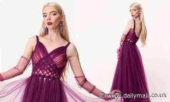 Anya Taylor-Joy looks marvelous in Dior as she takes home Critics' Choice award for Queen's Gambit