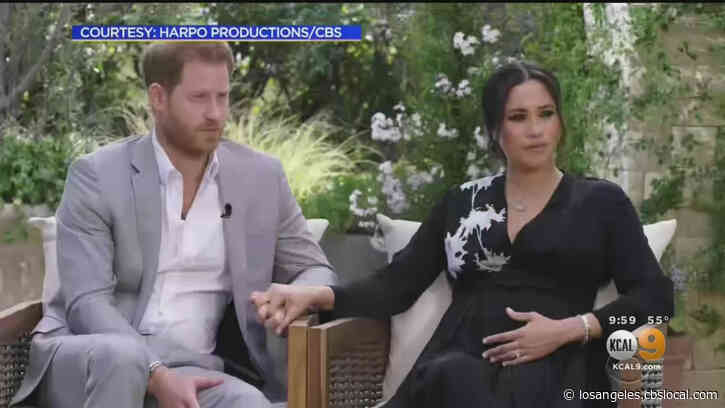 'I Was Desperate': Prince Harry And Meghan's Bombshell Interview