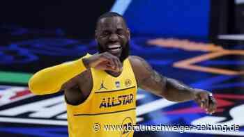 Basketball: NBA-All-Star-Game: James mit Spaß, Antetokounmpo überragt
