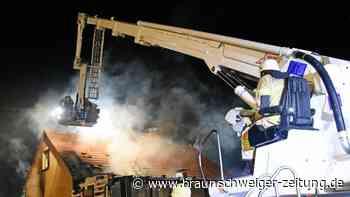Schöppenstedt: Feuer in Wohnhaus - Katze tot geborgen