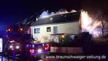 Brand in einem Wohnhaus in Schöppenstedt