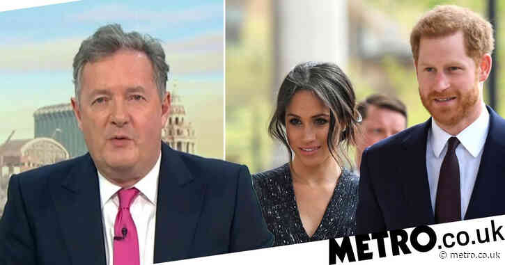 Piers Morgan 'doesn't believe' Meghan Markle's suicidal revelation in Oprah interview: 'I'm sickened by what I just watched'