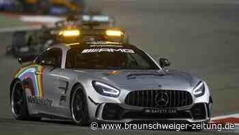Mit Mercedes im Wechsel: Aston Martin jetzt auch als Safety Car in der Formel 1