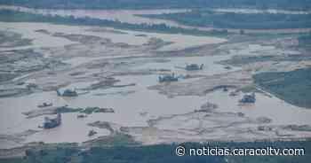 Capturan a 11 personas por minería ilegal en Tarazá: el daño ambiental es impresionante - Noticias Caracol