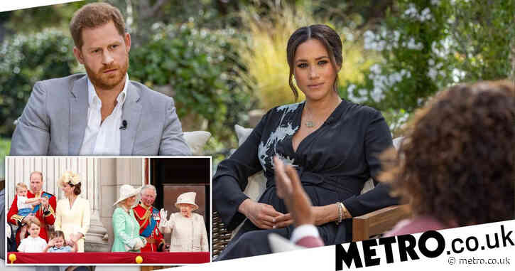12 bombshell revelations from Meghan and Harry's Oprah interview