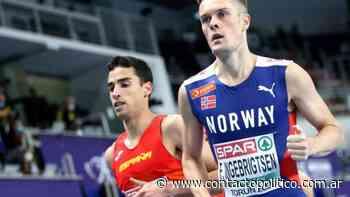 Plata de Jesús Gómez y bronce de Fontes en 1500 para el European Indoor Track - Portal Contacto Político
