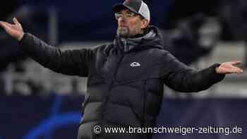 """Klopp-Krise mit Liverpool hält an: """"Müssen mal wieder gewinnen"""""""