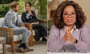 The four demands Prince Harry and Meghan Markle made to Oprah Winfrey before their  interview