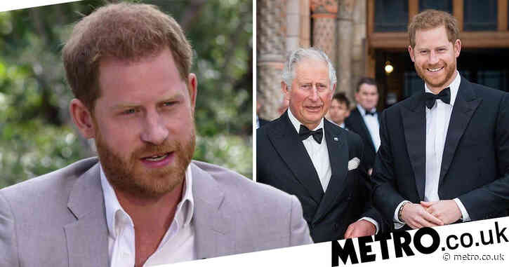 Harry has 'anger and resentment' towards Charles, says body language expert
