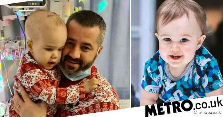 Boy, 2, with brain tumour size of satsuma had just days to live