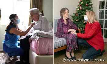 Care home visits resume - but visitors must wear PPE and hugging and kissing is still banned