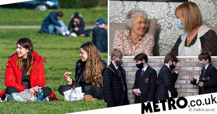 What lockdown rules change in England from today?