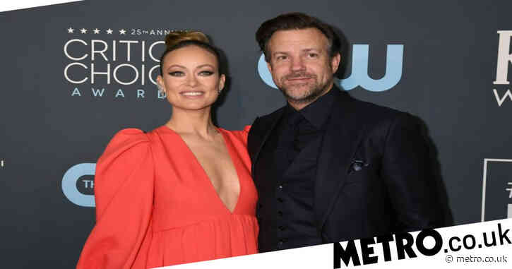 Jason Sudeikis thanks ex Olivia Wilde as he wins best actor for Ted Lasso at Critics Choice Awards