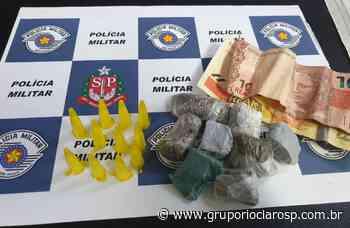 PM apreende menina por tráfico de drogas em Santa Gertrudes - https://www.gruporioclarosp.com.br/