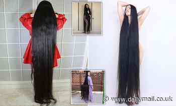 'Japanese Rapunzel with 6ft 3in hair' has not had a haircut in 15 years