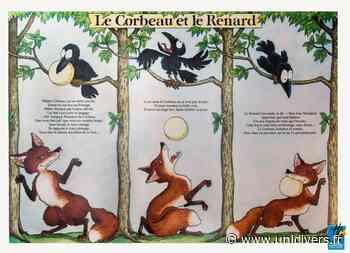 Exposition – Les fables de Jean de la Fontaine Médiathèque municipale de Fontenilles lundi 8 mars 2021 - Unidivers