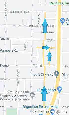 Cambian sentidos de circulación en calles de Santa Rosa - La Pampa La Arena