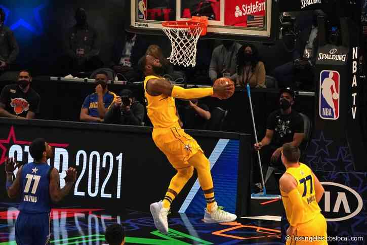 Team LeBron Wins NBA All-Star Game 170-150