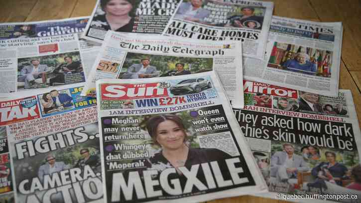 L'entrevue d'Harry et Meghan: une bombe pour la monarchie britannique
