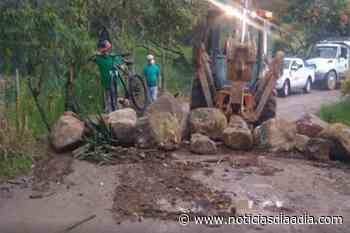 Cerrada la vía Fusagasugá – Tibacuy, Cundinamarca - Noticias Día a Día