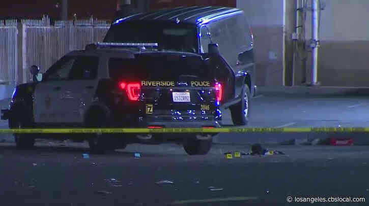 2 Hospitalized After Police Shooting Erupts At Scene Of Separate Shooting In Riverside