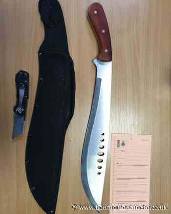 Police seize machete in Pokesdown after fight in Kings Park, Bournemouth - Bournemouth Echo