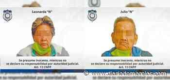 Detienen a pareja de adultos mayores en Tepalcingo tras cateo - Diario de Morelos
