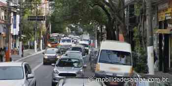 SPTrans substitui pavimento em pontos de parada da Rua Teodoro Sampaio - Mobilidade Sampa