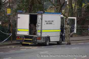 Roads open after grenade in Poole woods is disposed of