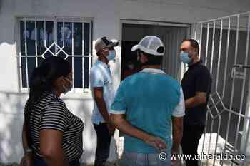 En Galapa entregaron viviendas a afectados por obras de la Cordialidad - EL HERALDO