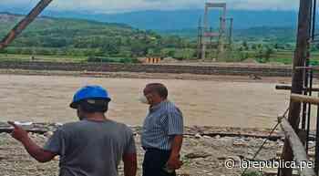 Amazonas: construyen puente peatonal Puerto Motupe sobre el río Utcubamba LRND - LaRepública.pe