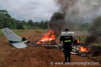 Misterio rodea avioneta que apareció en llamas en Sarapiquí - San Carlos Digital
