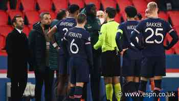 UEFA suspends ref involved in PSG racism spat
