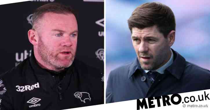 'He's done a fantastic job' – Wayne Rooney praises Steven Gerrard after Rangers win Scottish Premiership title