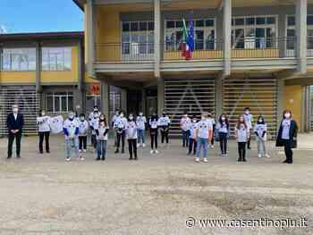 L'Istituto Dovizi di Bibbiena con il progetto Erasmus+ va in Europa con le magliette prodotte da Miniconf - Casentinopiù