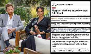 Meghan and Harry Oprah interview: US media supports couple after shock allegations